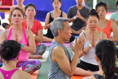 Festival Yoga Satu Hari di Namaste Day Fest 2015