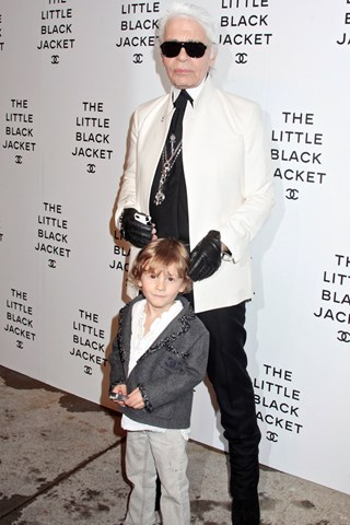 Meet Hudson Kroenig: Model Cilik Kesayangan Karl Lagerfeld