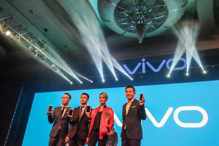 Bersama Agnes Monica Vivo Meluncurkan Vivo V5