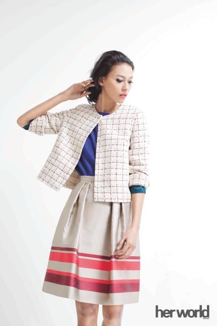 Tip Memakai A-Line Skirt
