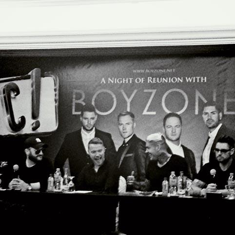 Konser Nostalgia Bersama Boyzone