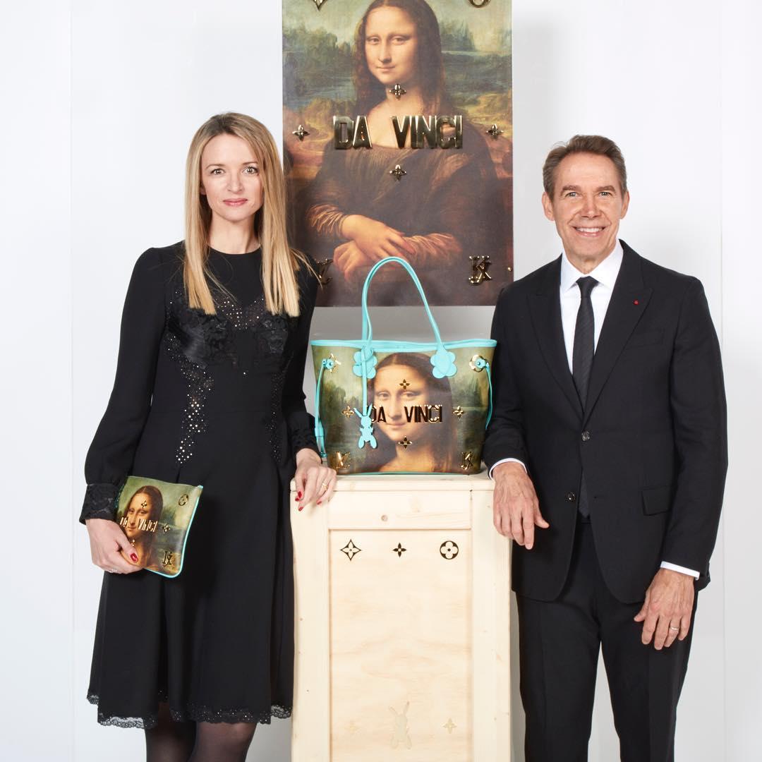 Louis Vuitton Berkolaborasi Dengan Jeff Koons