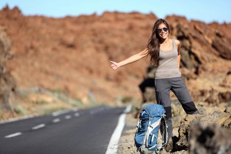 Cara Hitchhiking Saat Liburan