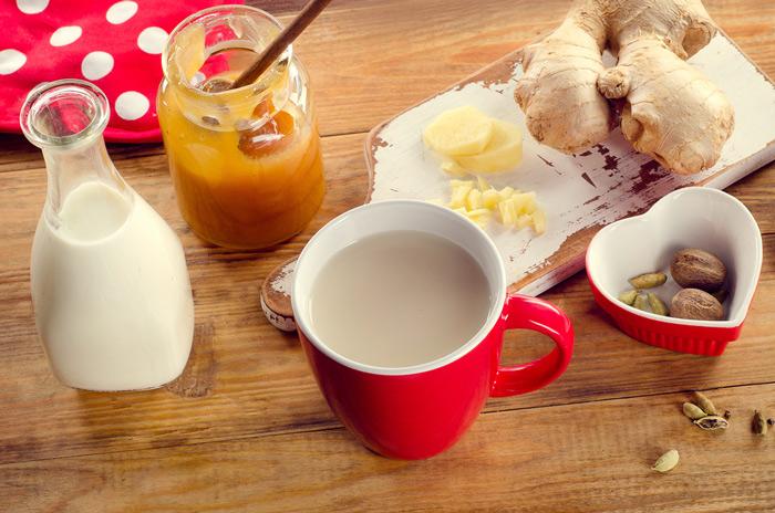 Cara Membuat Susu Jahe Hangat