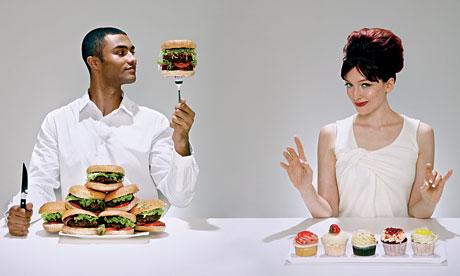Mengapa Pria Makan Lebih Cepat Dari Wanita?