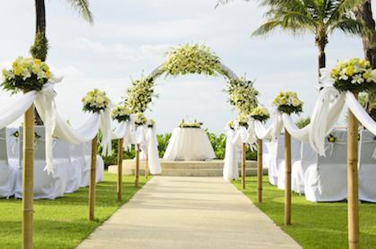 Tips Mengadakan Resepsi Pernikahan Secara Outdoor