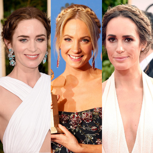 Gaya Kepang Seleb di Golden Globes 2015