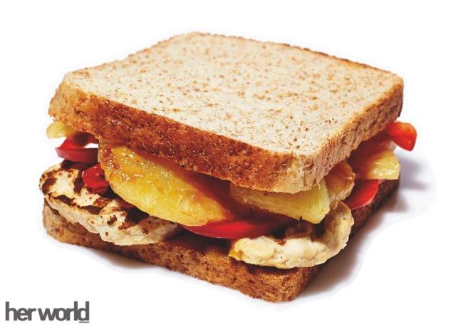 Resep: Grilled Pineapple Chicken Sandwich