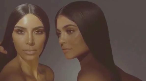 Kim Kardashian Berkolaborasi Dengan Kylie Cosmetics