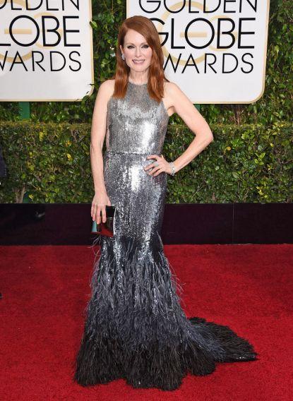 We Love: Julianne Moore Golden Globes 2015 Red Carpet