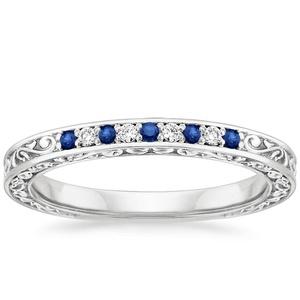 9 Cincin Pernikahan Dengan Batu Safir
