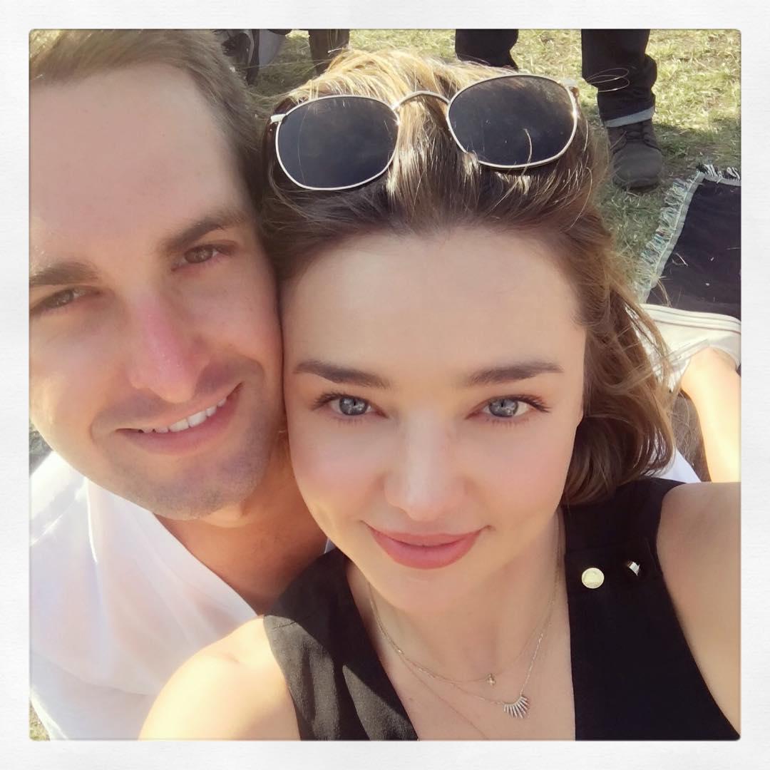 Miranda Kerr Menikahi Pendiri Snapchat!