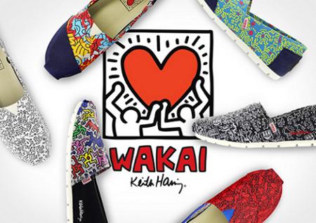 Kolaborasi Artistik Wakai dan Keith Haring