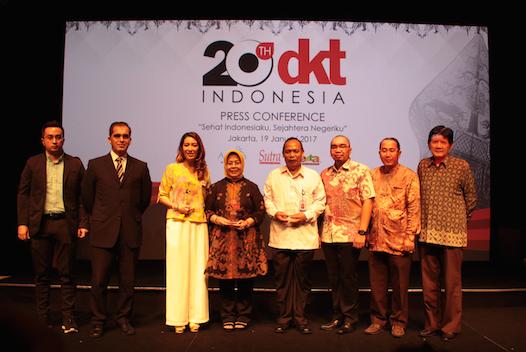 Perayaan Ulang Tahun DKT Indonesia ke 20