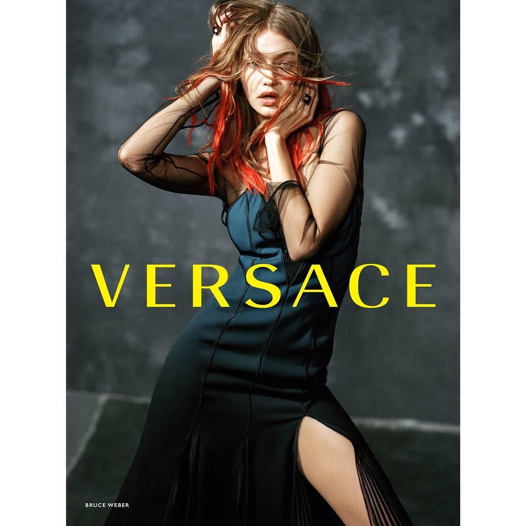 Gigi Hadid Bintangi Kampanye Iklan Versace
