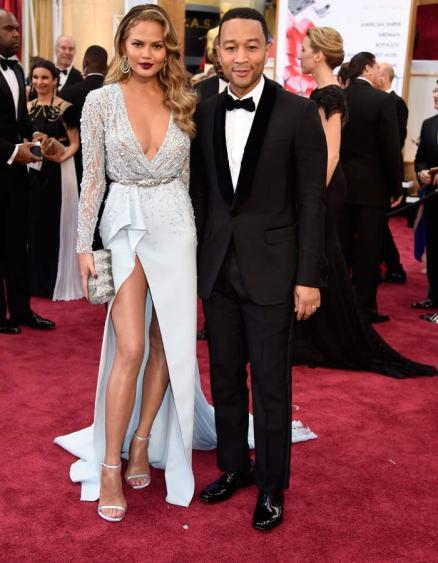 We Love: John Legend & Chrissy Teigen Academy Awards 2015 Red Carpet