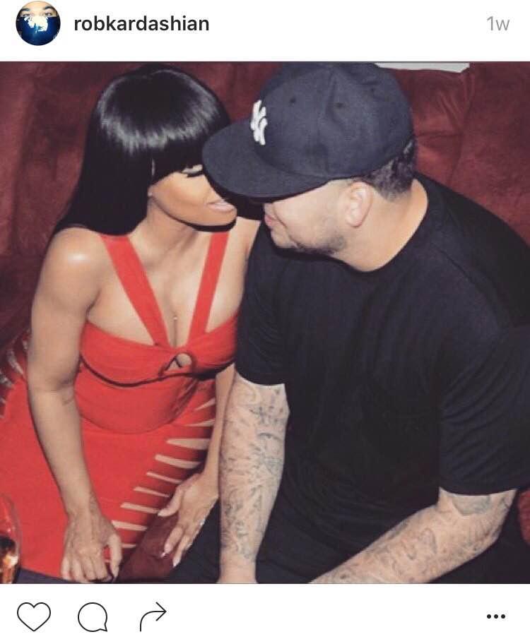 Rob Kardashian Umumkan Nama Anak Bersama Blac Chyna
