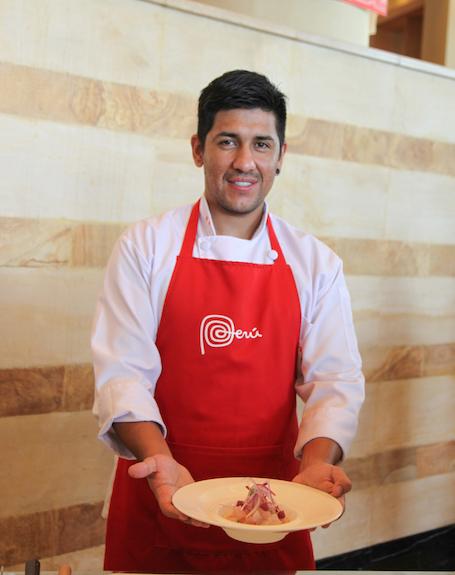 Kuliner Unik Negara Peru di JW Mariott Jakarta