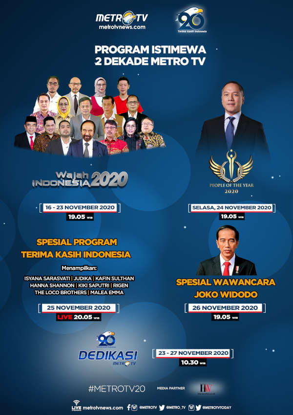 Program Istimewa 2 Dekade Metro TV
