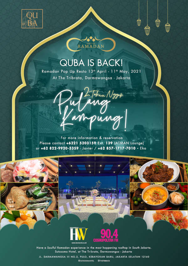 Quba Ramadhan Pop up Resto is Back !