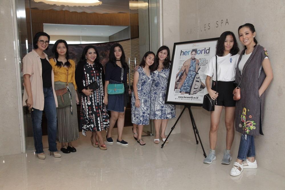 Acara Mom & Daughter Intimate Moment di Raffles Jakarta