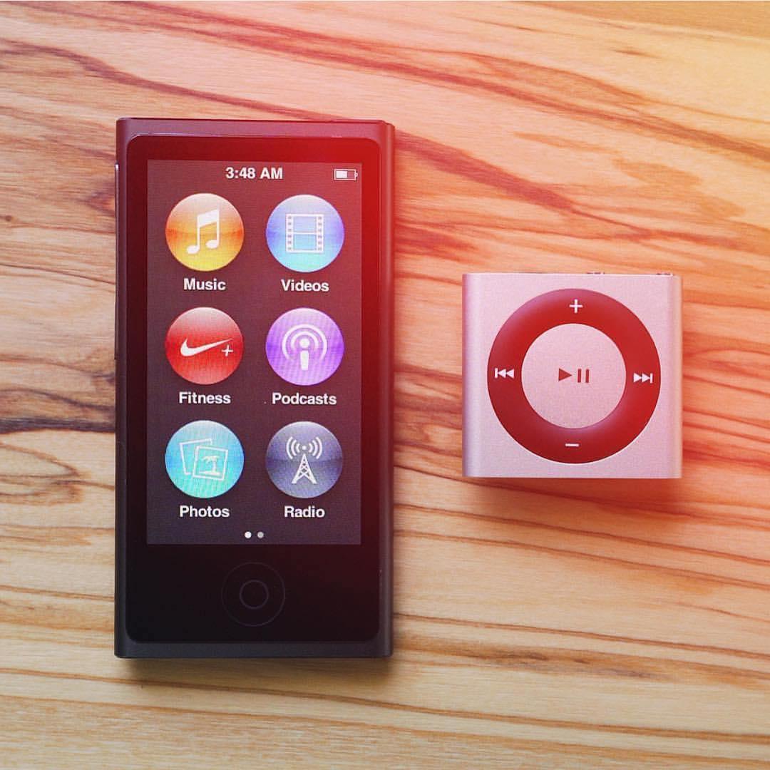Apple Berhenti Menjual iPod Nano dan Shuffle