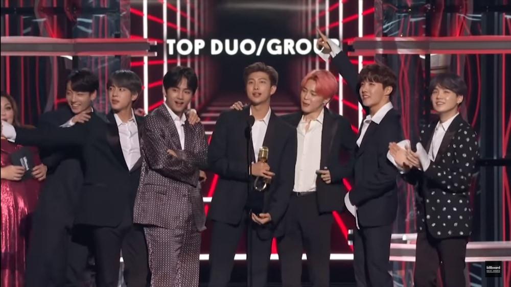 BTS dan Daftar Pemenang Billboard Music Awards 2019