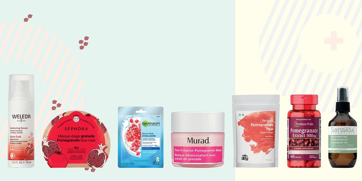 7 Rekomendasi Produk Kecantikan dengan Kandungan Delima