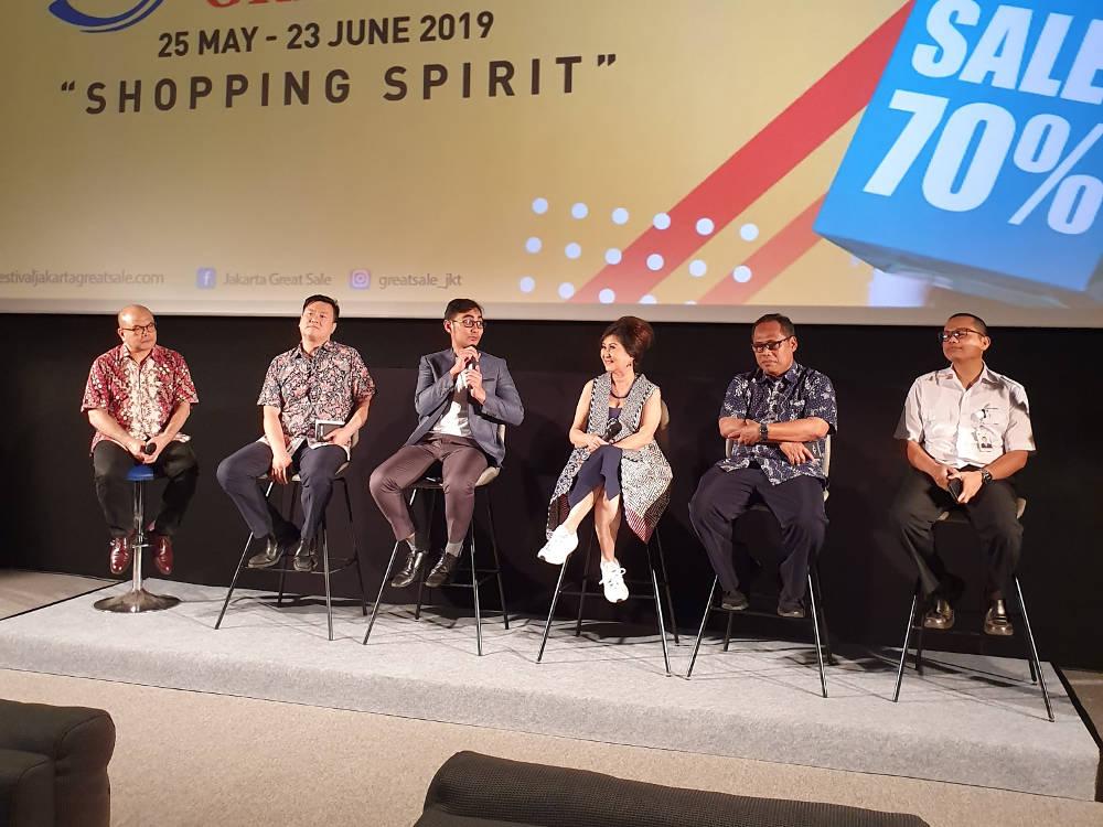 Beragam Penawaran Seru di 'Festival Jakarta Great Sale'