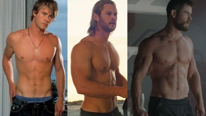 Bikin Meleleh! Ini Transformasi Badan Chris Hemsworth