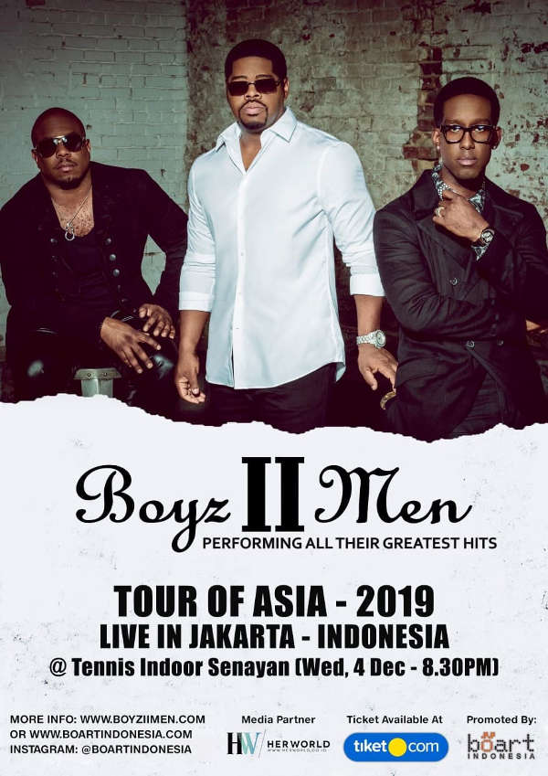 Boyz II Men Tour of Asia - 2019