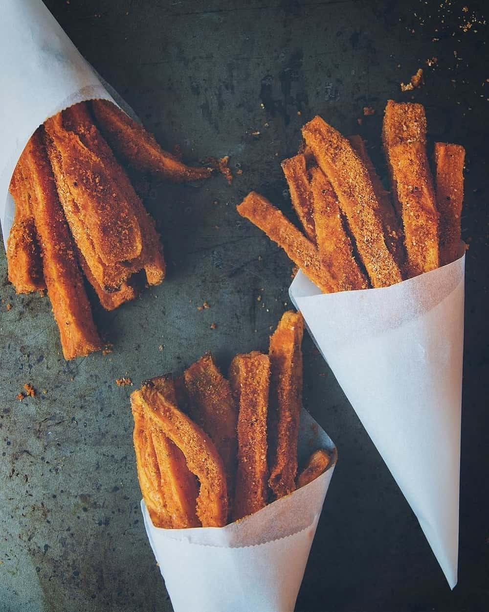 Cara Membuat French Fries Dari Ubi