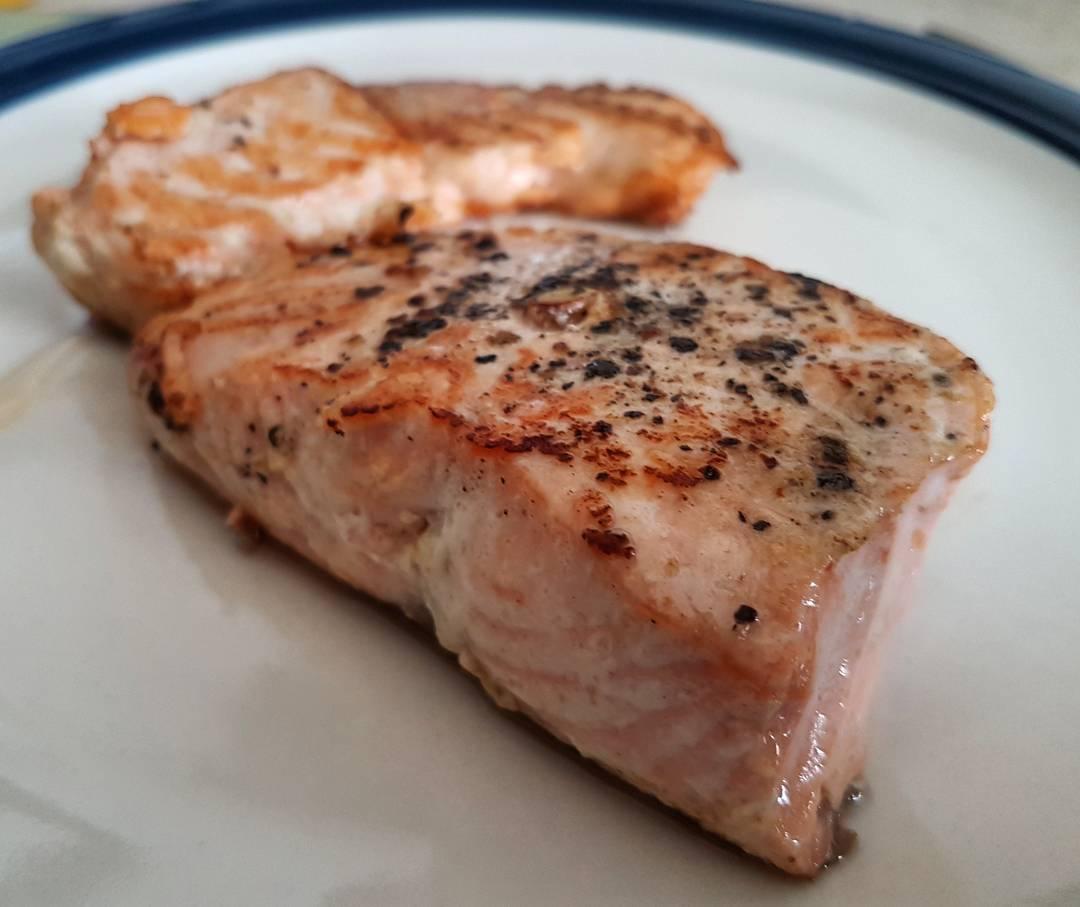 Cara Membuat Salmon Panggang Sehat