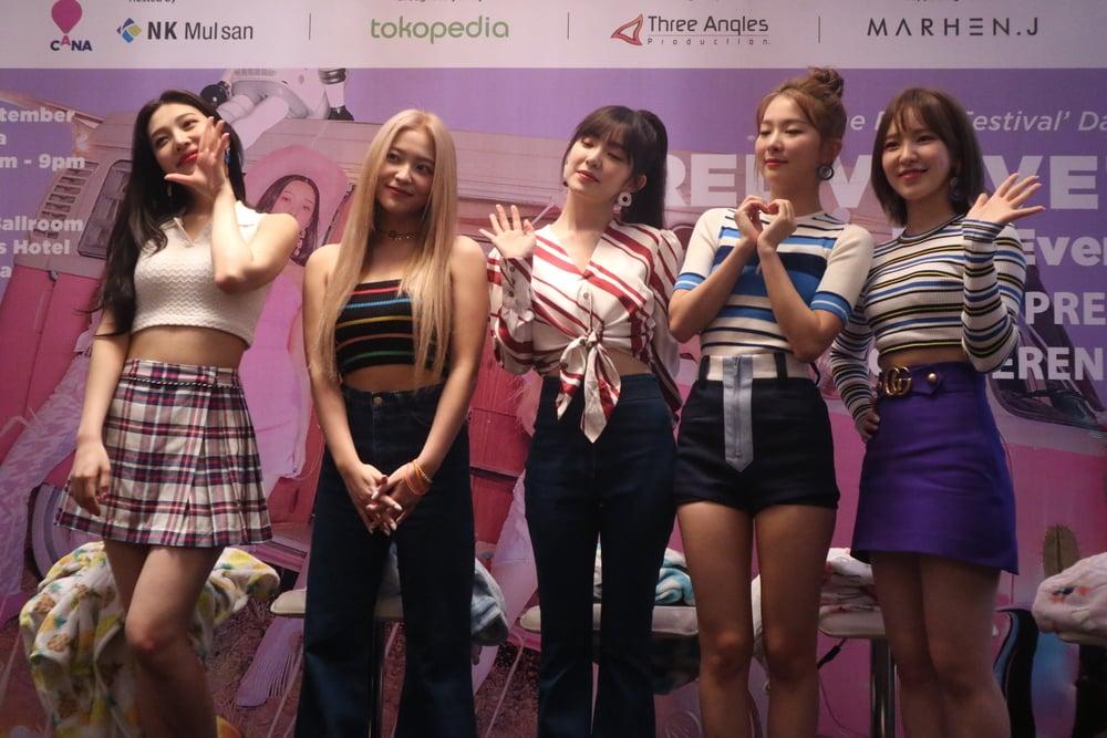 Cerita 'Red Velvet' Kecintaannya Pada Fans Di Indonesia