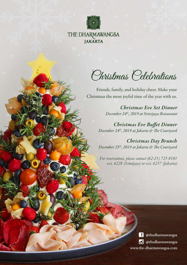 Christmas Celebrations at The Dharmawangsa Jakarta