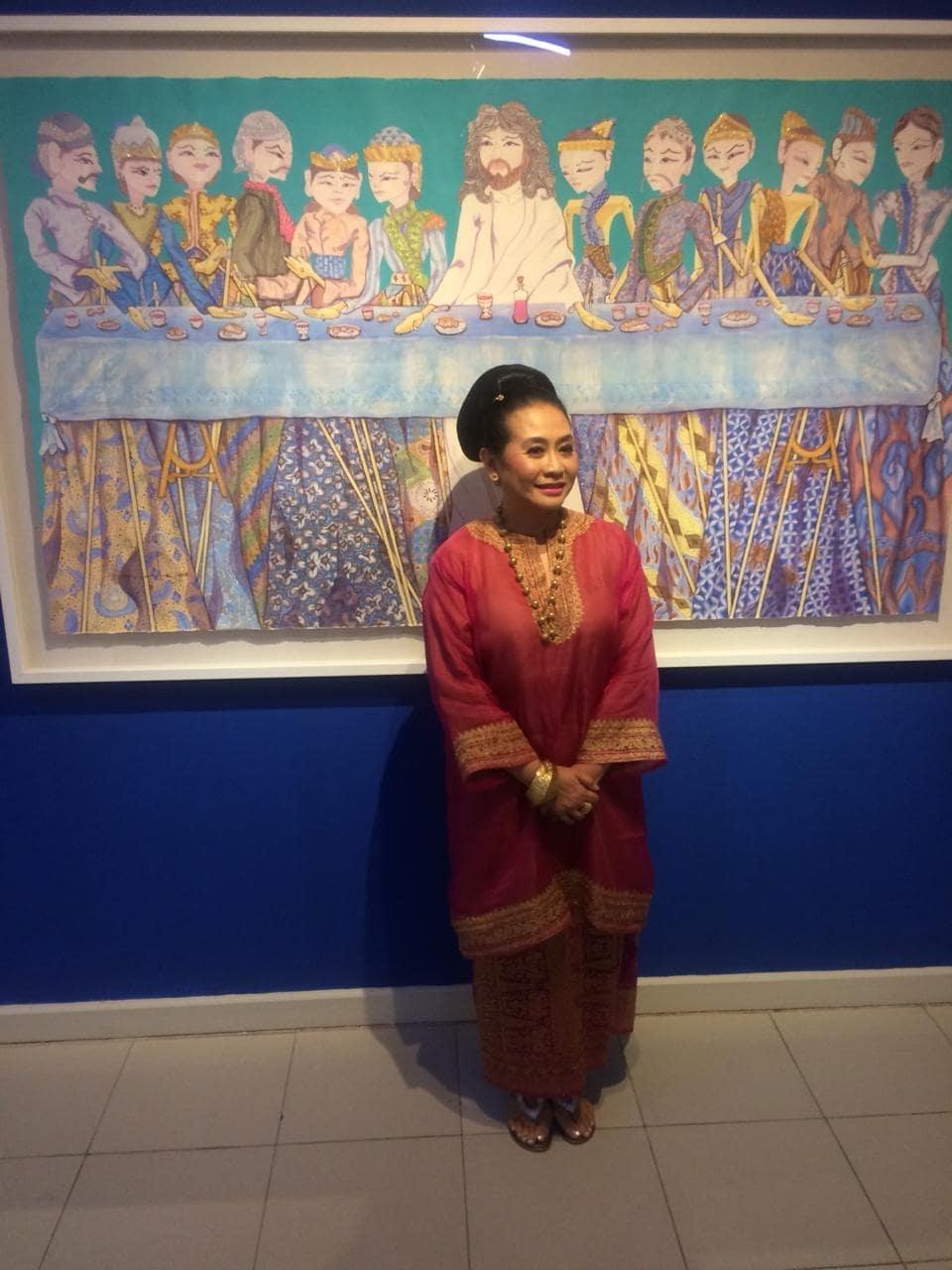 'Cinta Indonesia,' 30 Tahun Berkarya Sasya Tranggono