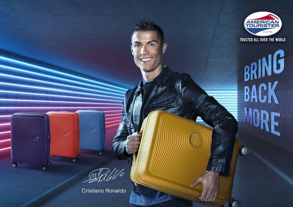 Cristiano Ronaldo Resmi Jadi Duta American Tourister