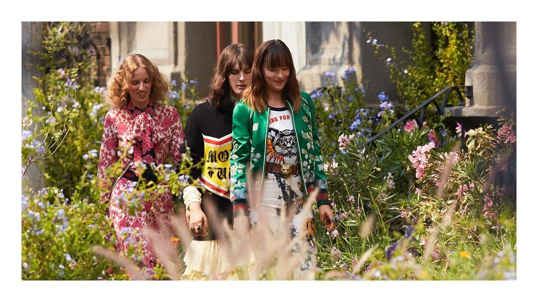 Dakota Johnson Bintangi Kampanye Iklan Wewangian Gucci