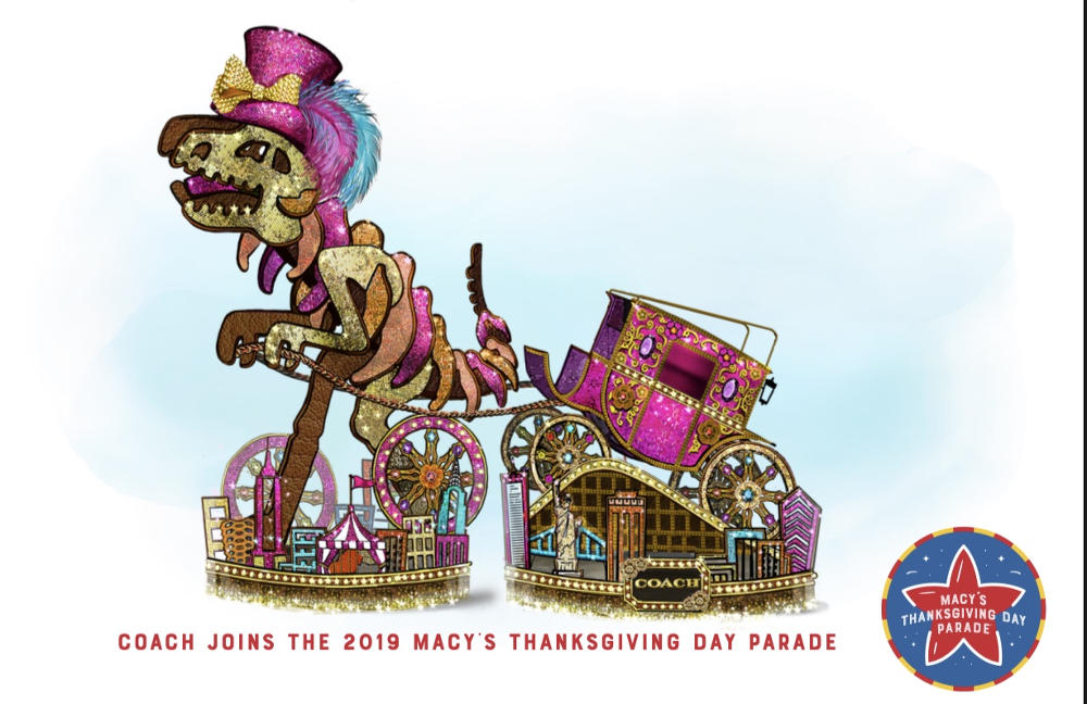 Debut Coach di Parade Hari Thanksgiving Macy's