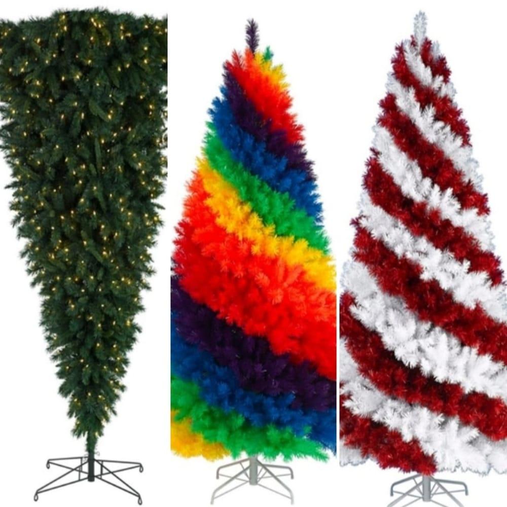 Deretan Pohon Natal Unik dan Penuh Warna