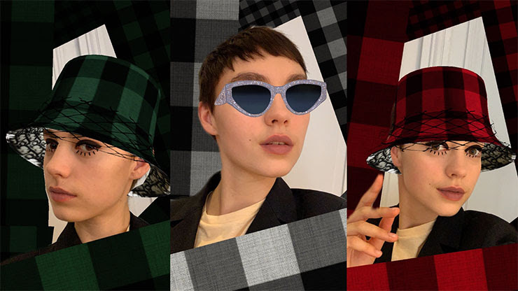 Dior Hadirkan Filter Instagram Stories 'Check'N'Dior'