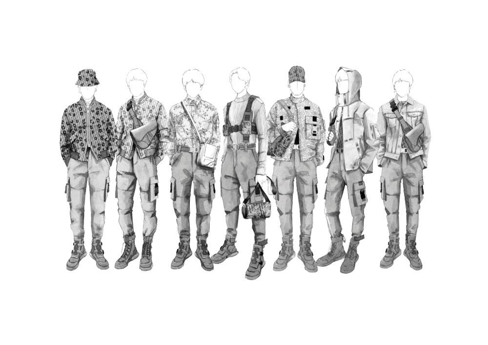 Dior Merancang Busana Khusus untuk Grup K-pop BTS