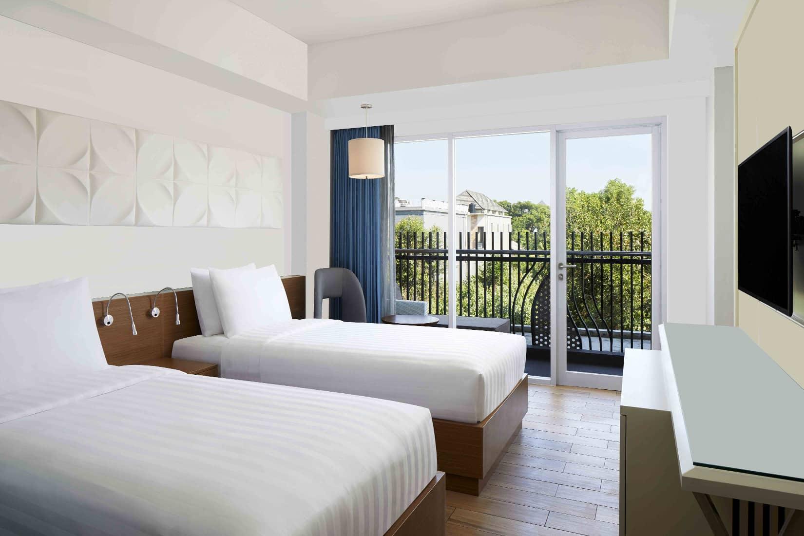 Fairfield By Marriott, Hotel Baru Di Pantai Kuta