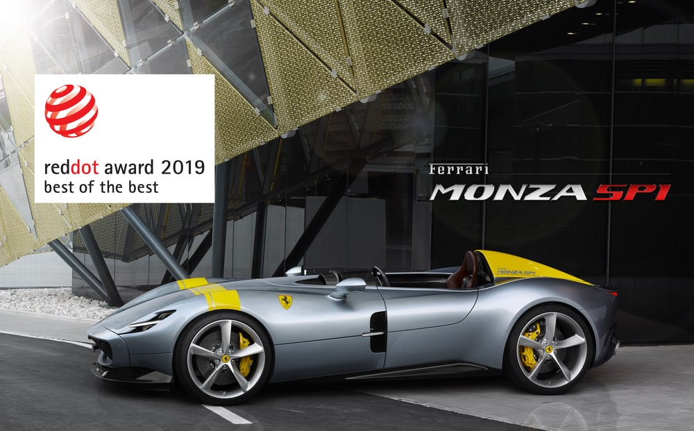 Ferrari Raih Penghargaan Red Dot 'Best of the Best'