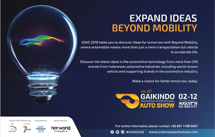 GIIAS 2018: Expand Ideas Beyond Mobility