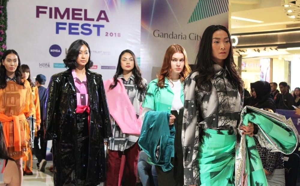 Gebrakan 7 Desainer Muda di Fimela Fest 2018