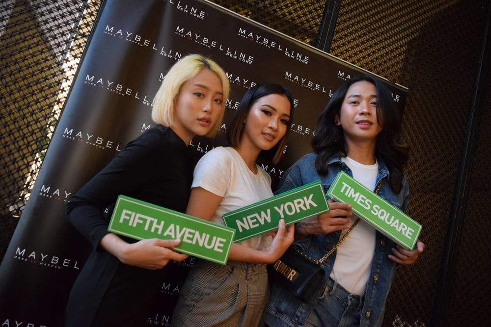 Gebrakan 'Maybelline Makers' di New York Fashion Week