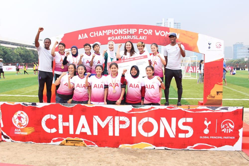 Gebrakan Sepakbola Wanita di AIA Championship for Women