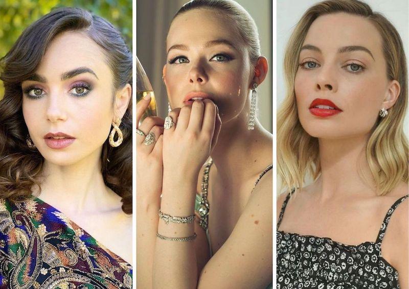Inspirasi Gaya Rambut dan Makeup dari Golden Globes 2021