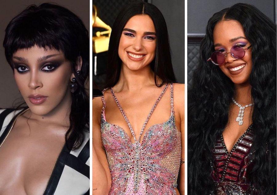 Lihat Gaya Makeup dan Rambut Terbaik di Ajang Grammys 2021